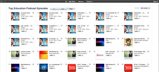 top education podcasts episodes in itunes